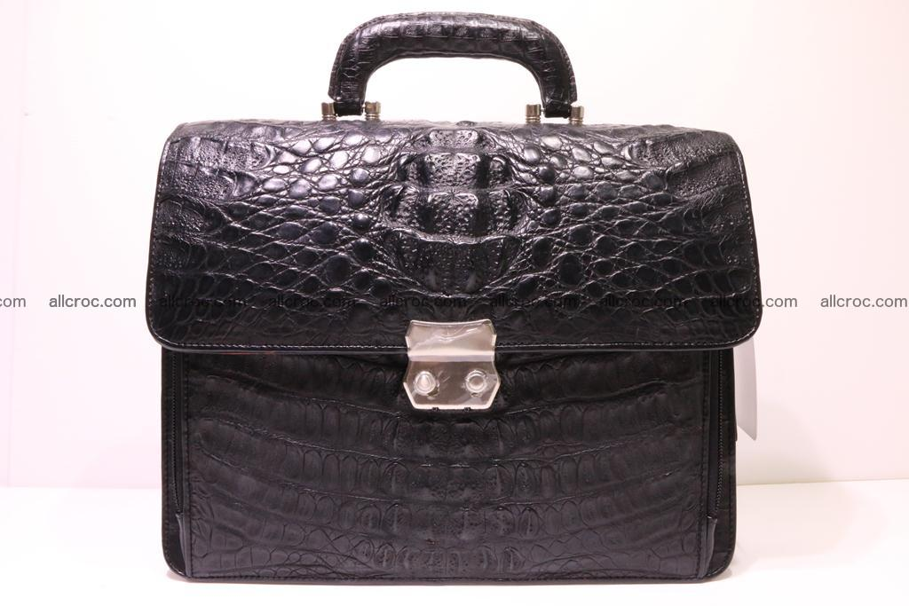 Crocodile skin briefcase 292 Foto 0