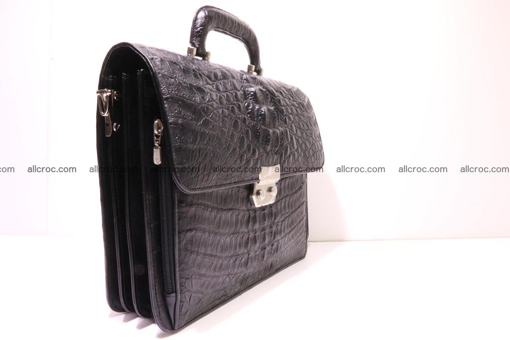 Crocodile skin briefcase 292 Foto 3