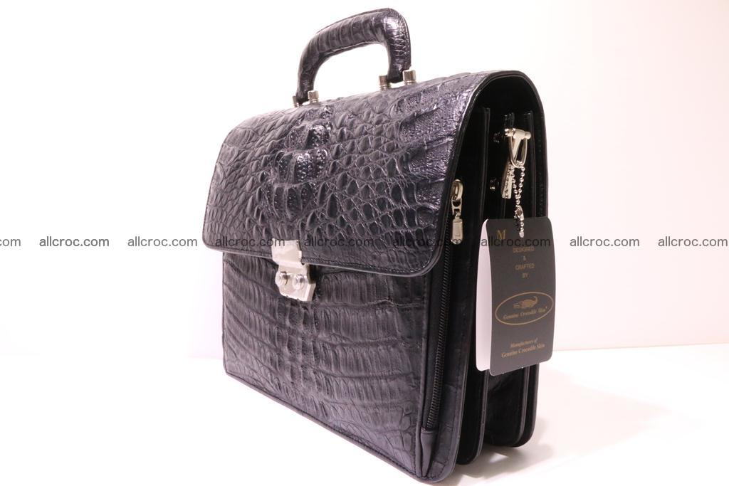 Crocodile skin briefcase 292 Foto 4