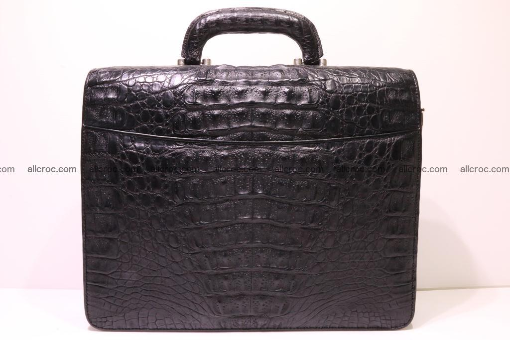 Crocodile skin briefcase 292 Foto 2
