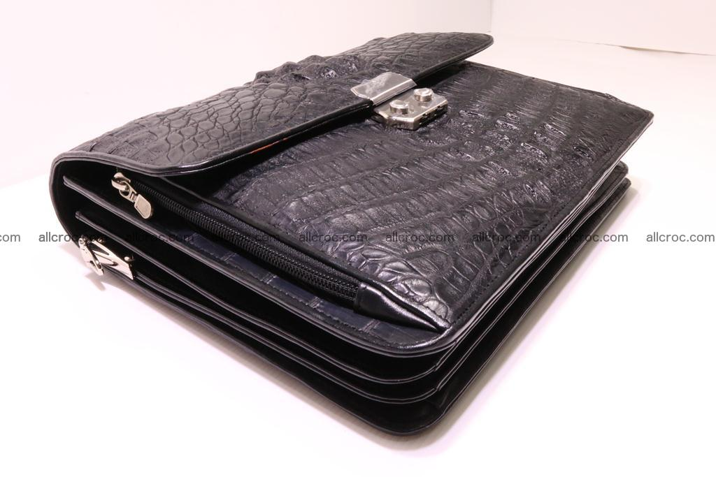 Crocodile skin briefcase 292 Foto 6