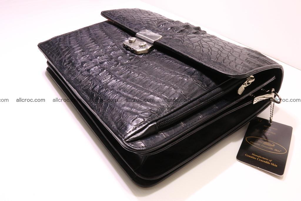 Crocodile skin briefcase 292 Foto 7