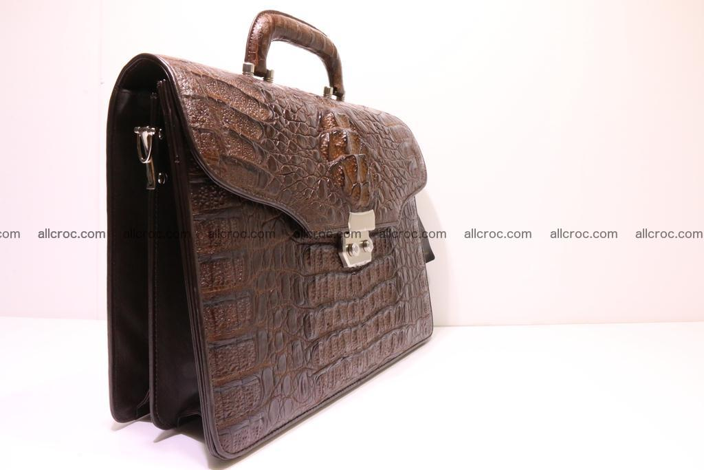 Crocodile skin briefcase 284 Foto 2