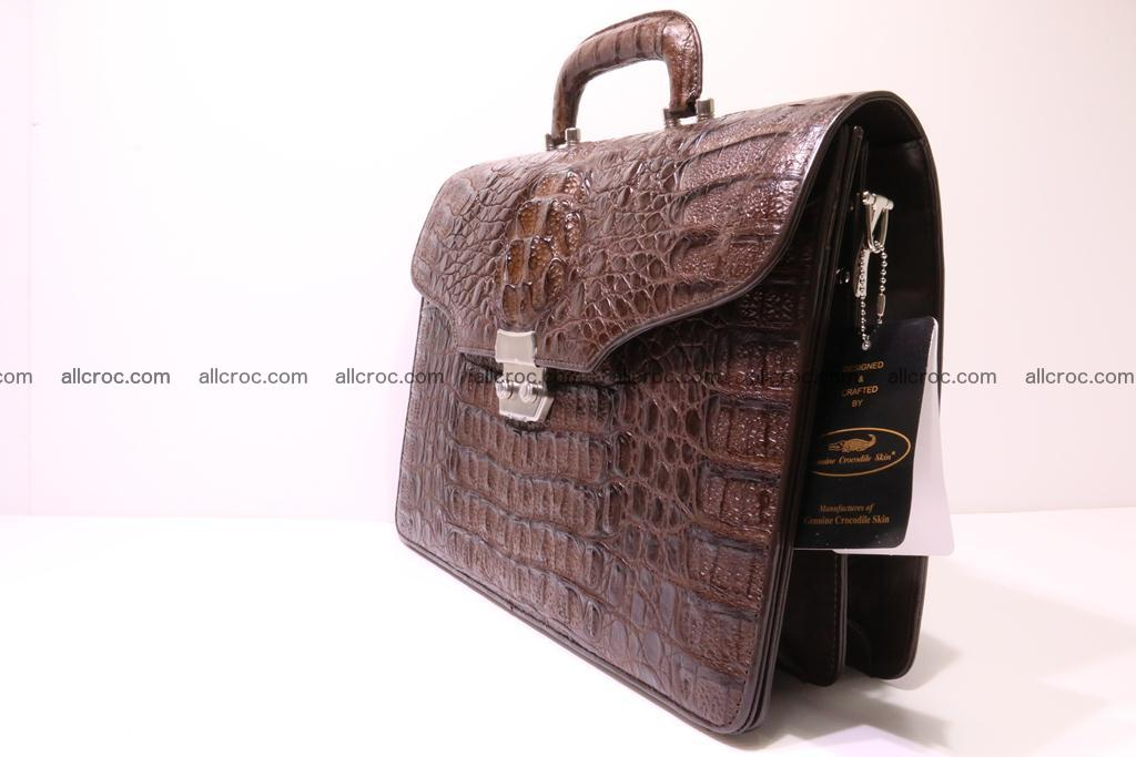 Crocodile skin briefcase 284 Foto 3