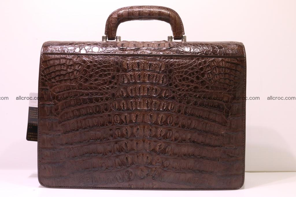 Crocodile skin briefcase 284 Foto 4