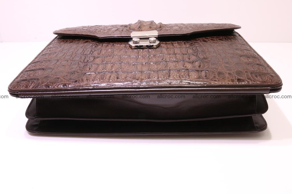 Crocodile skin briefcase 284 Foto 5