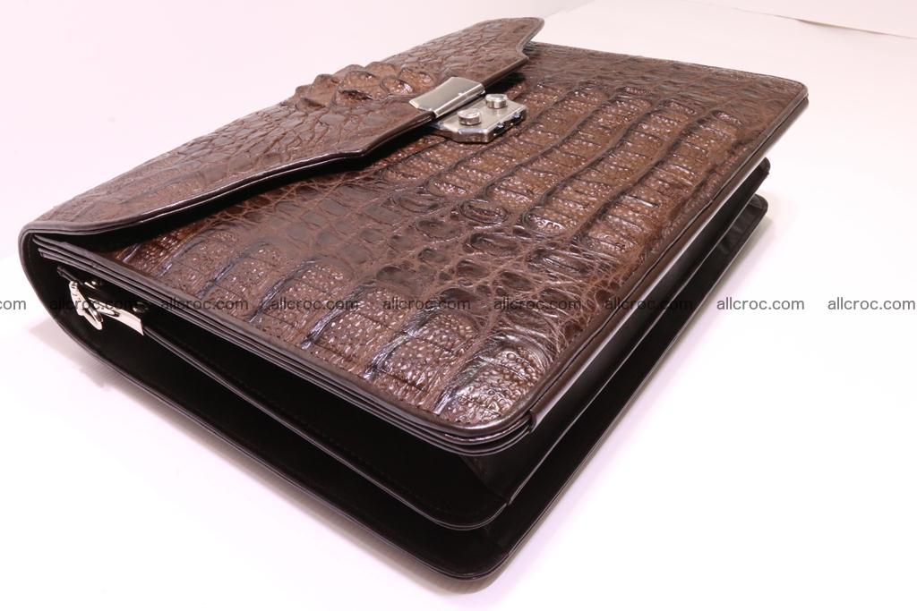 Crocodile skin briefcase 284 Foto 6