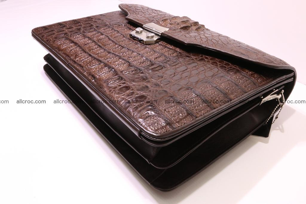 Crocodile skin briefcase 284 Foto 7