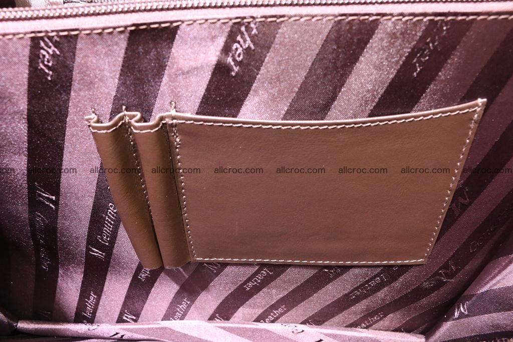 Crocodile skin briefcase 284 Foto 15