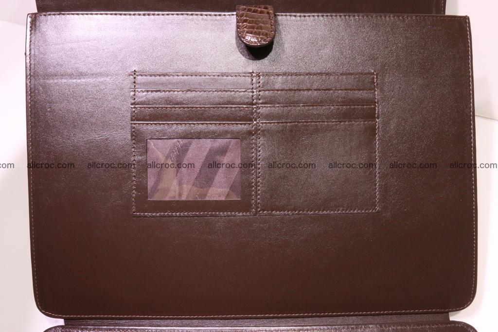 Crocodile skin briefcase 284 Foto 11
