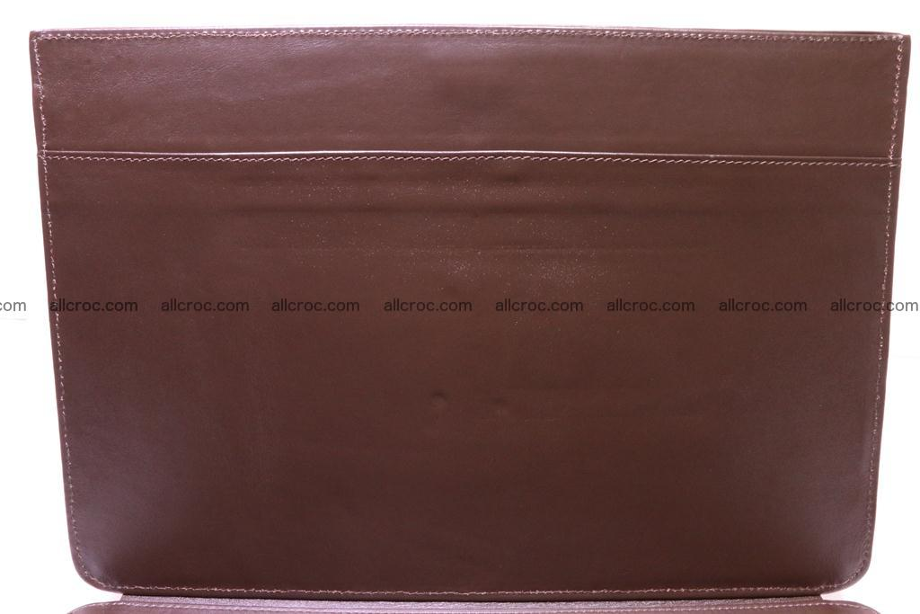 Crocodile skin briefcase 284 Foto 12
