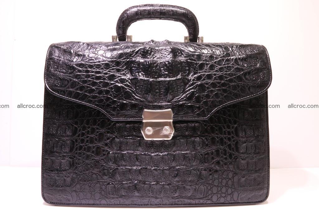 Crocodile skin briefcase 285 Foto 0