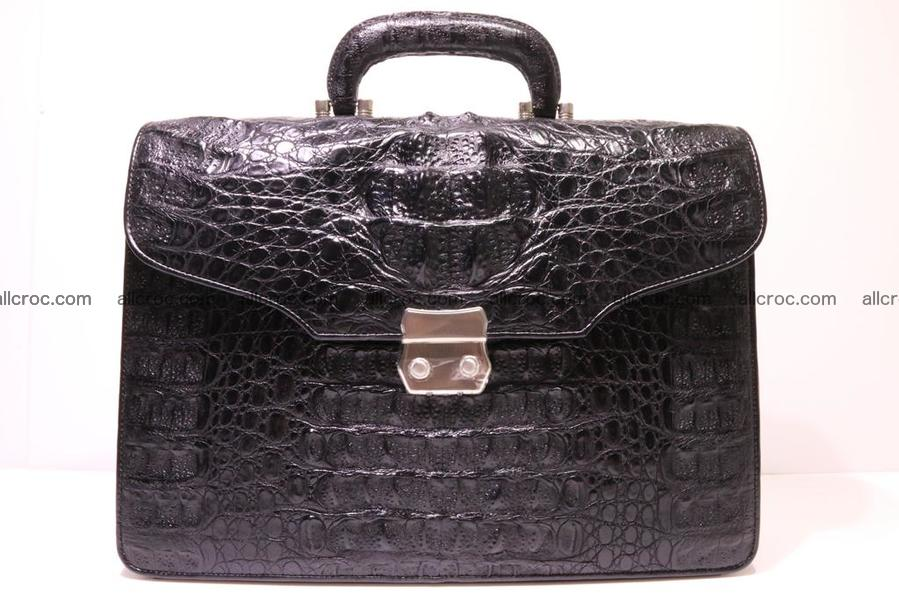 Crocodile briefcase 285