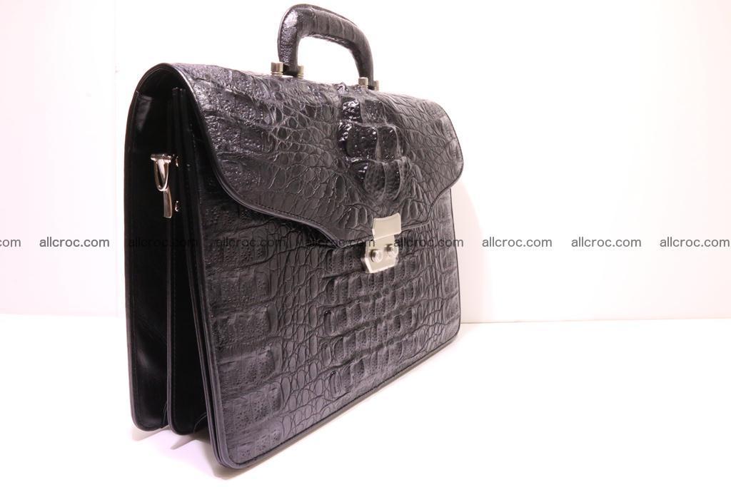Crocodile skin briefcase 285 Foto 1