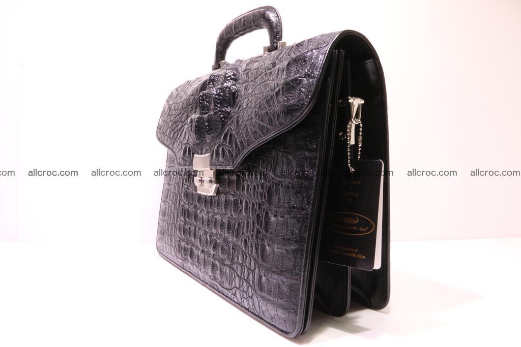 Crocodile skin briefcase 285 Foto 2