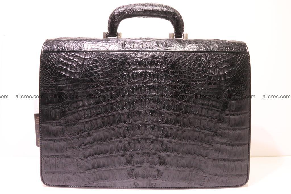 Crocodile skin briefcase 285 Foto 3