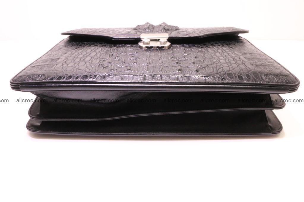 Crocodile skin briefcase 285 Foto 5