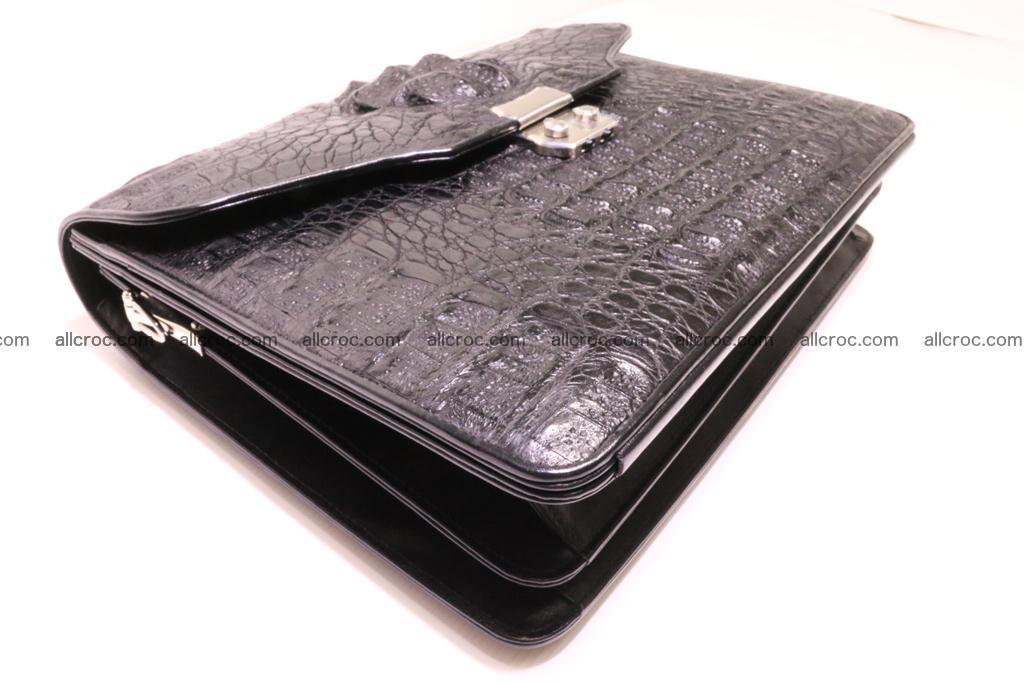 Crocodile skin briefcase 285 Foto 6
