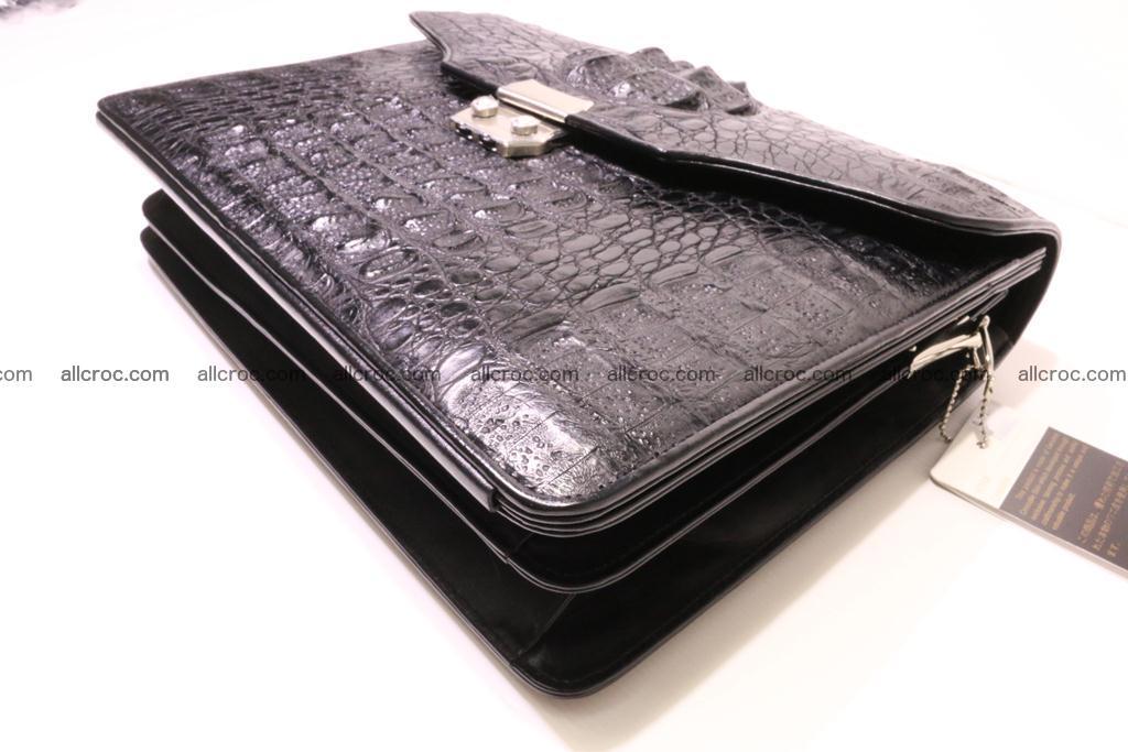 Crocodile skin briefcase 285 Foto 7