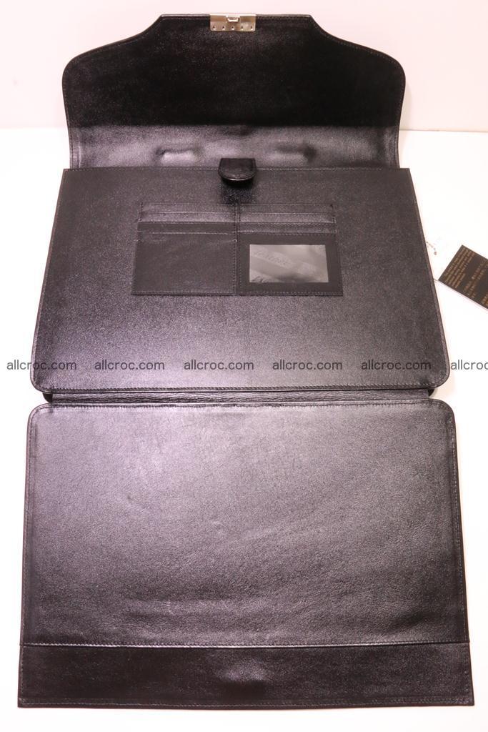 Crocodile skin briefcase 285 Foto 10