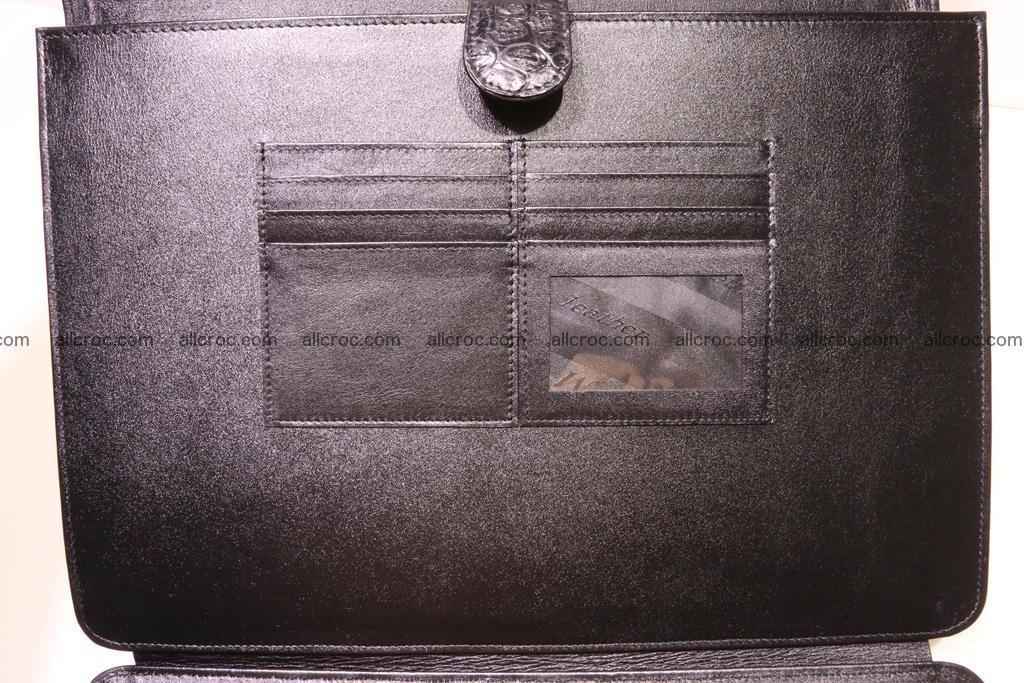 Crocodile skin briefcase 285 Foto 15