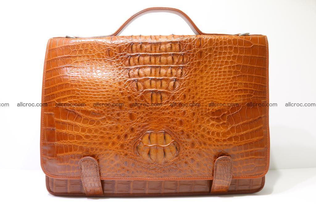 Crocodile skin briefcase 294 Foto 0