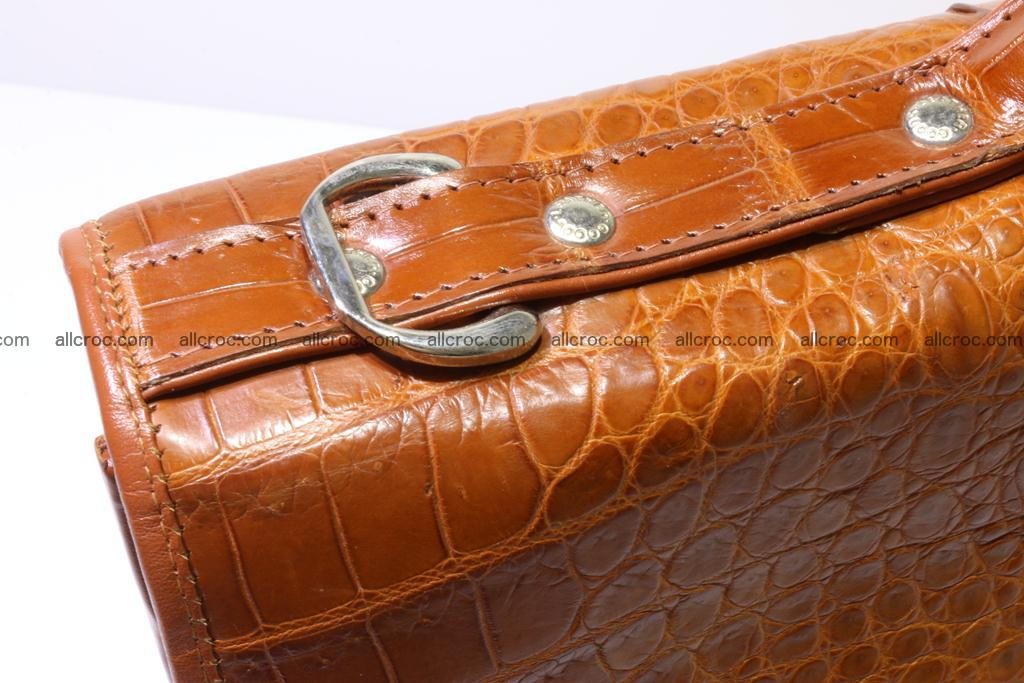 Crocodile skin briefcase 294 Foto 5