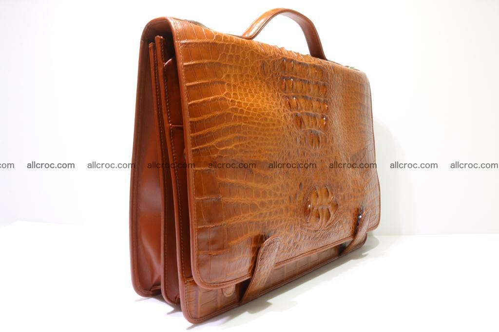 Crocodile skin briefcase 294 Foto 1
