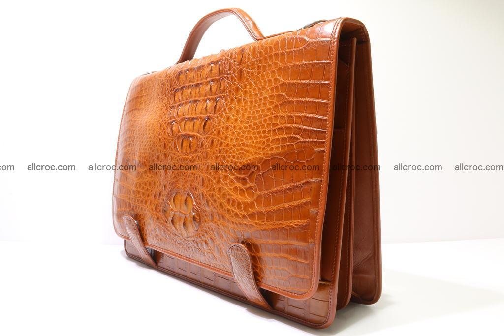 Crocodile skin briefcase 294 Foto 2