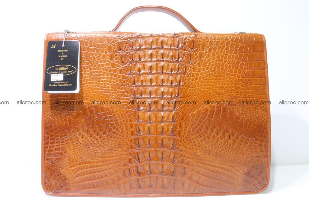 Crocodile skin briefcase 294 Foto 6