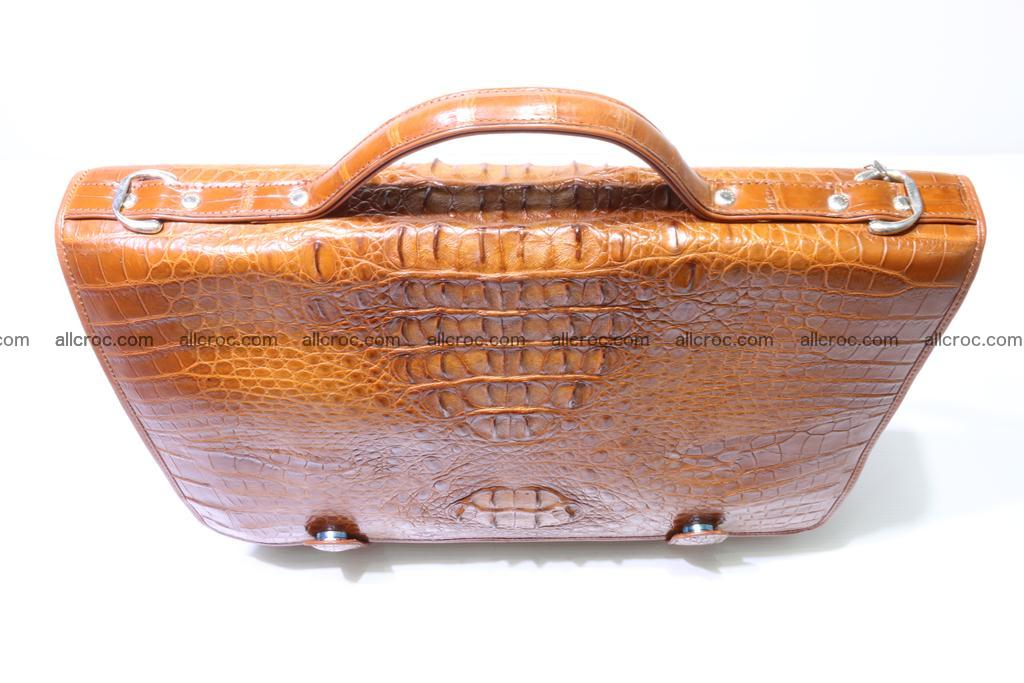 Crocodile skin briefcase 294 Foto 3