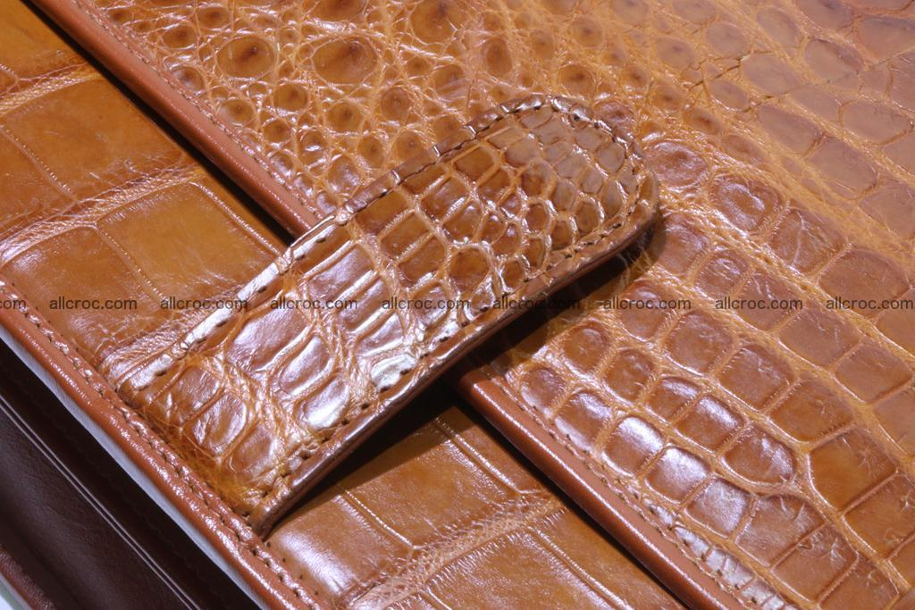 Crocodile skin briefcase 294 Foto 11
