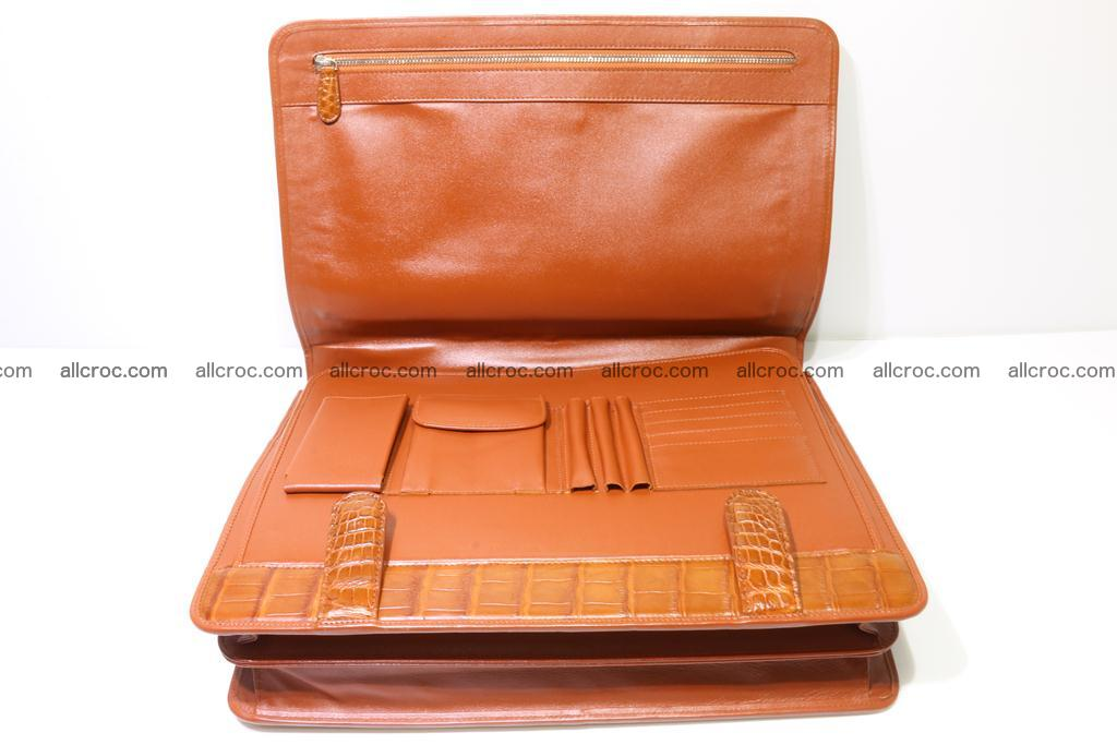 Crocodile skin briefcase 294 Foto 18