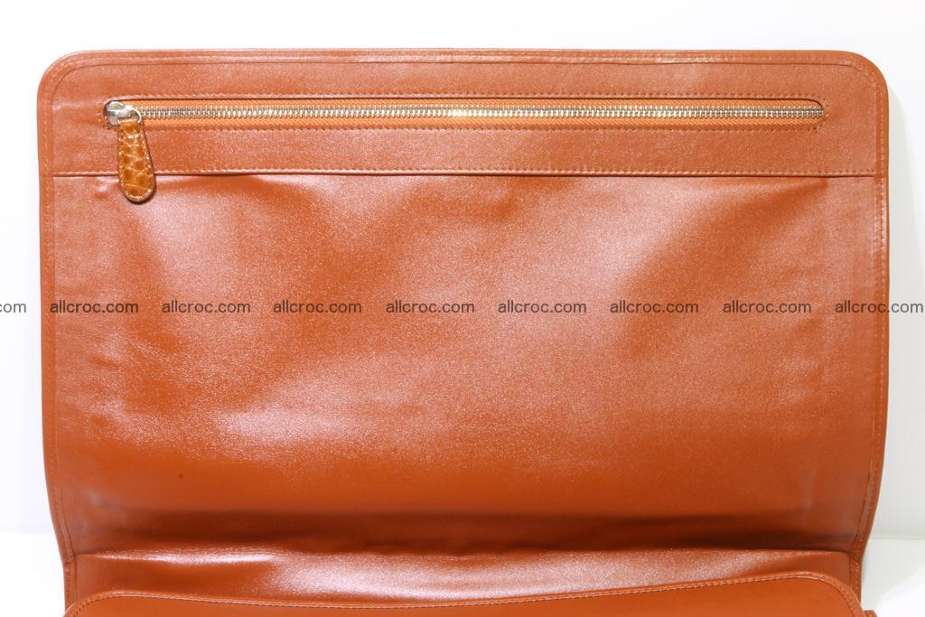 Crocodile skin briefcase 294 Foto 13