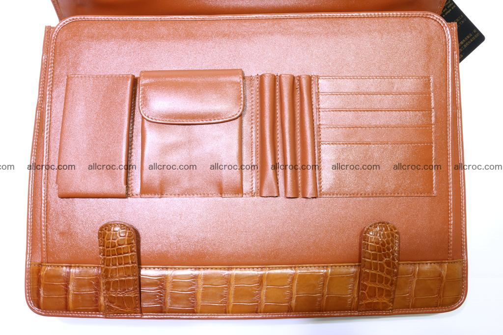 Crocodile skin briefcase 294 Foto 17