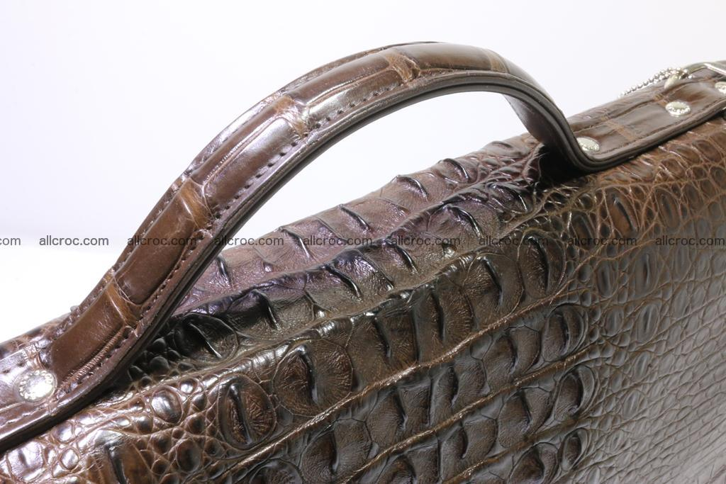 Crocodile skin briefcase 295 Foto 4