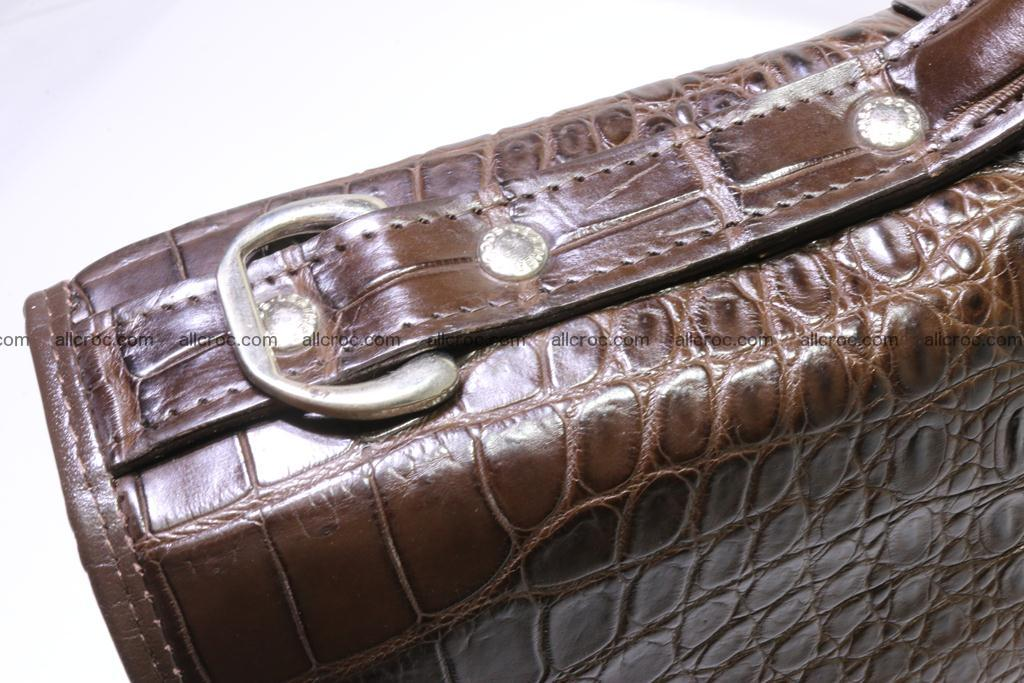 Crocodile skin briefcase 295 Foto 8