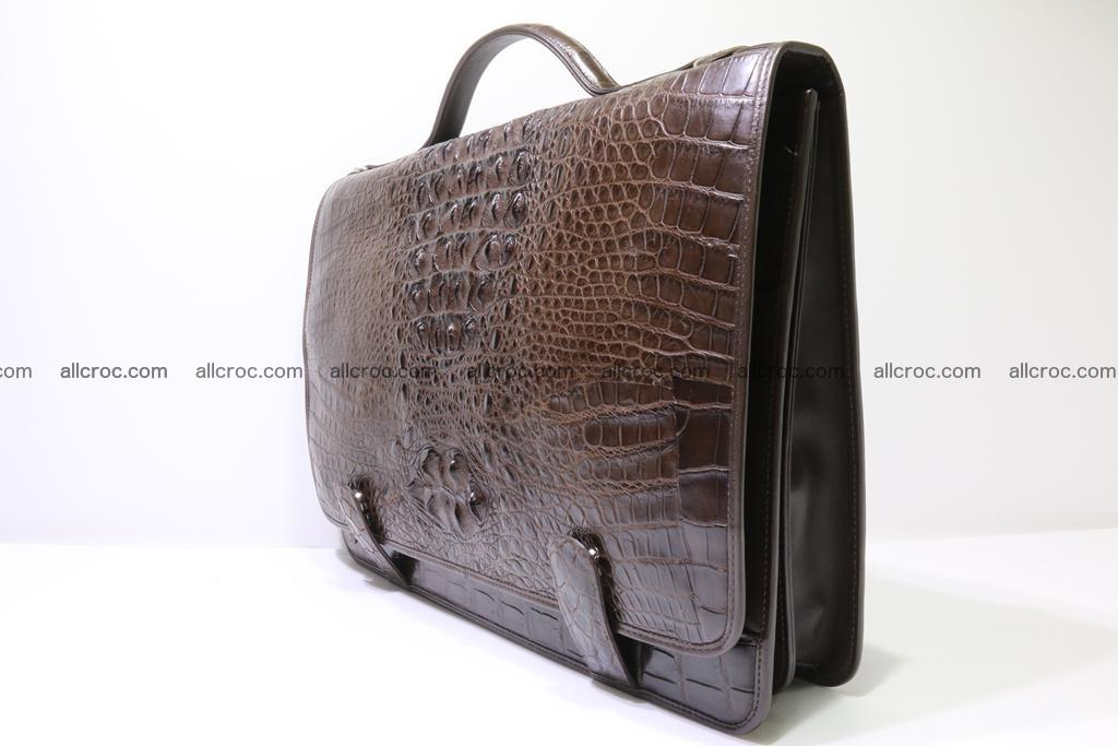Crocodile skin briefcase 295 Foto 6
