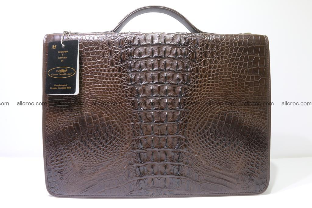 Crocodile skin briefcase 295 Foto 1