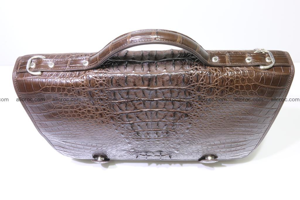 Crocodile skin briefcase 295 Foto 9