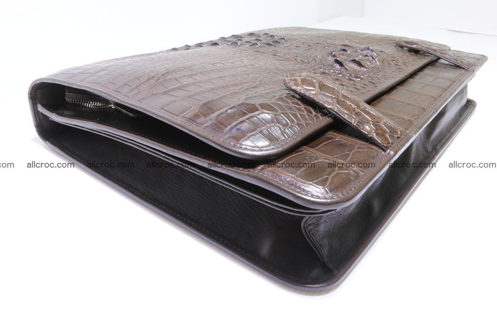 Crocodile skin briefcase 295 Foto 11