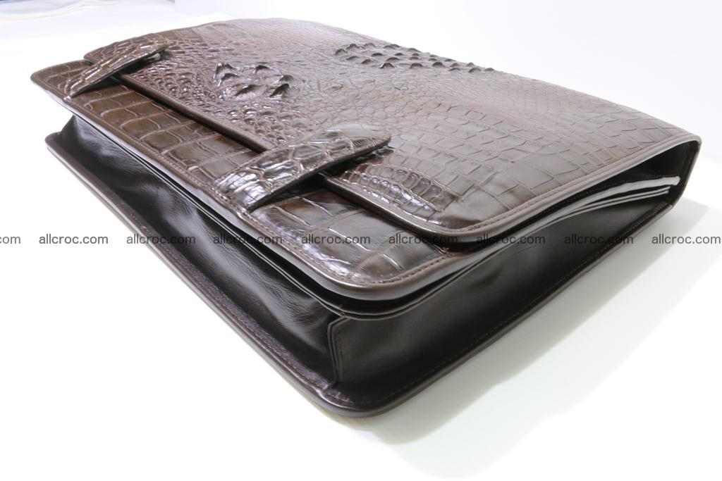 Crocodile skin briefcase 295 Foto 12