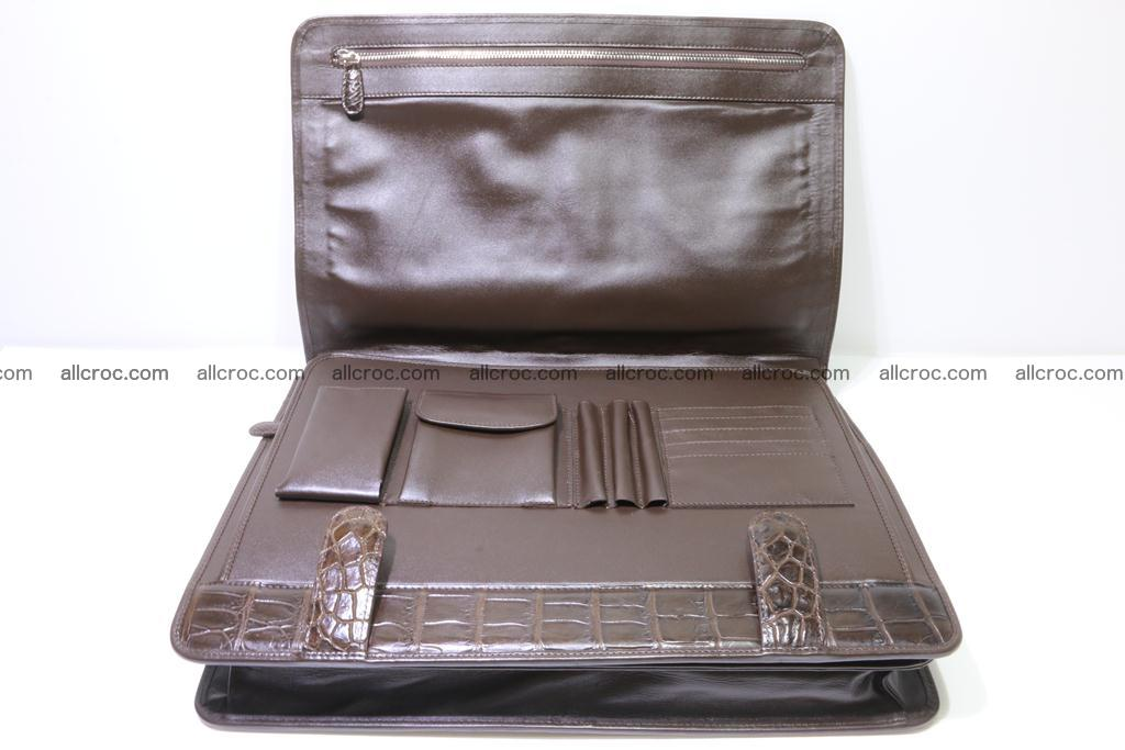 Crocodile skin briefcase 295 Foto 19