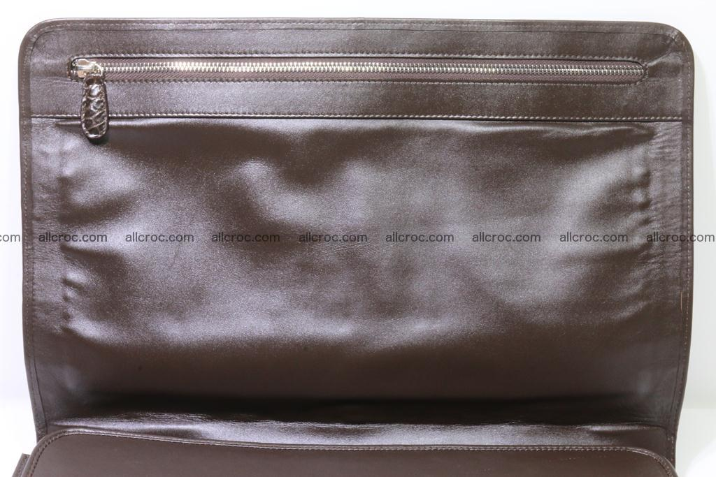 Crocodile skin briefcase 295 Foto 17