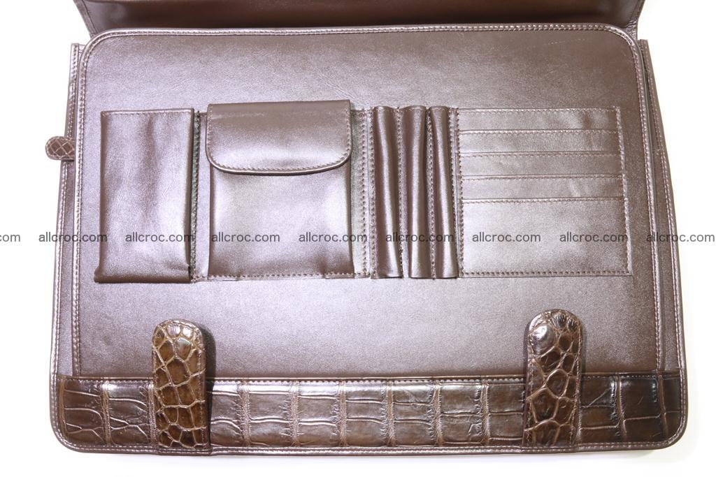 Crocodile skin briefcase 295 Foto 18