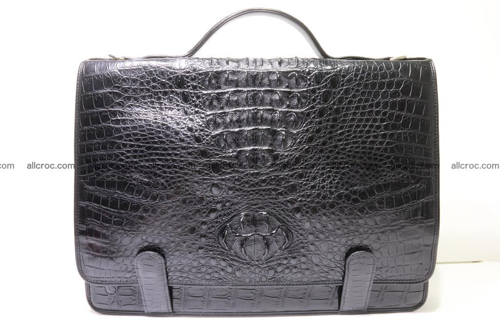 Crocodile skin briefcase 296 Foto 0