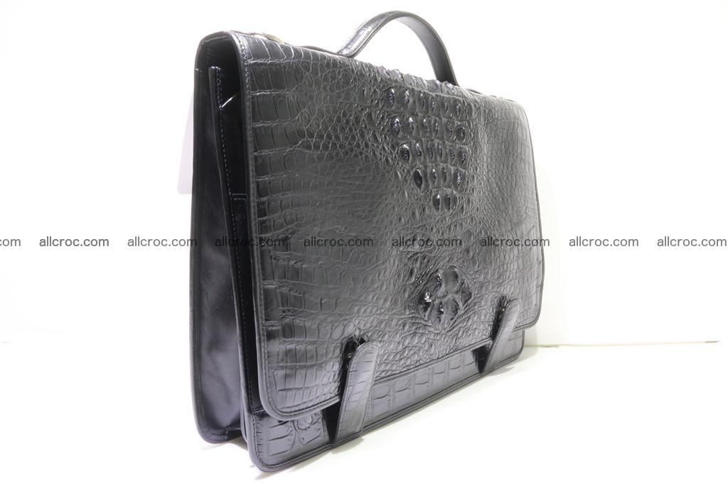 Crocodile skin briefcase 296 Foto 3