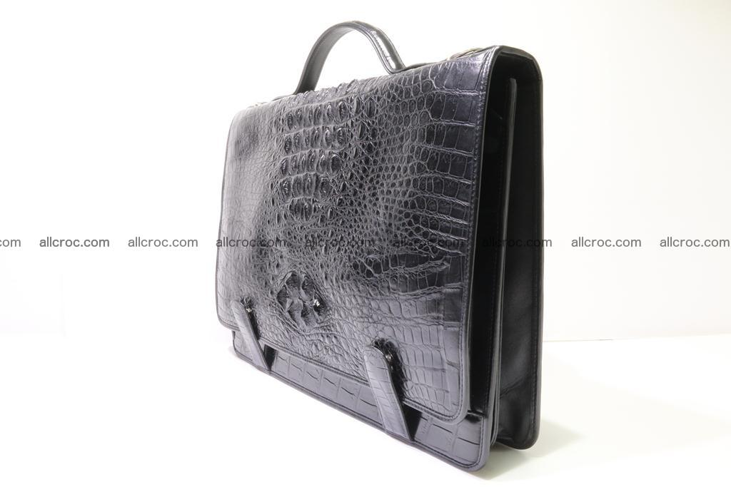 Crocodile skin briefcase 296 Foto 2