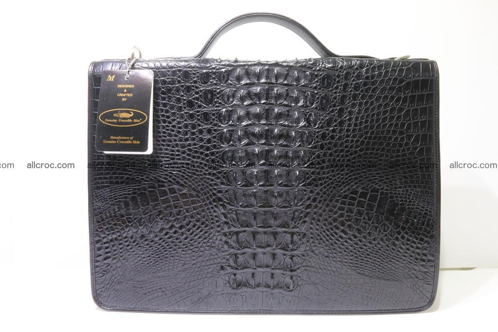 Crocodile skin briefcase 296 Foto 1