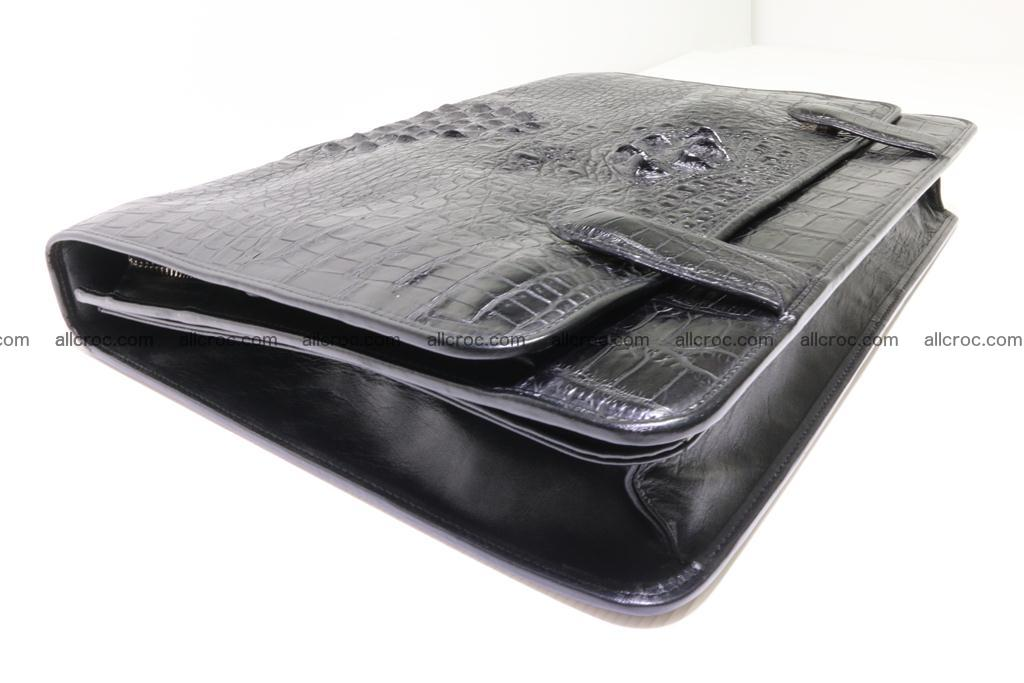 Crocodile skin briefcase 296 Foto 9